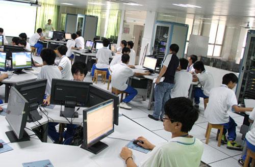 广州市示范性公共实训基地项目-网络技术实训基地